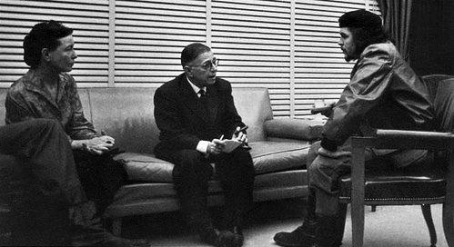 Beauvoir_Sartre_-_Che_Guevara_-1960_-_Cuba (1)